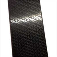 Stainless Steel Black Linen Finish Sheets