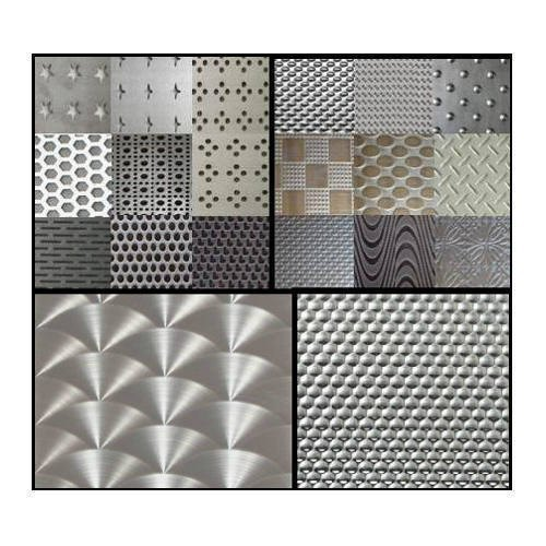 Stainless Steel Texture Designer Sheets