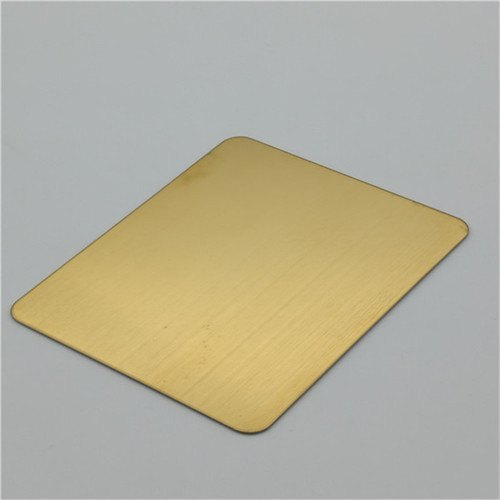 SS 304 Colored Sheet Gold Rose Gold Balck