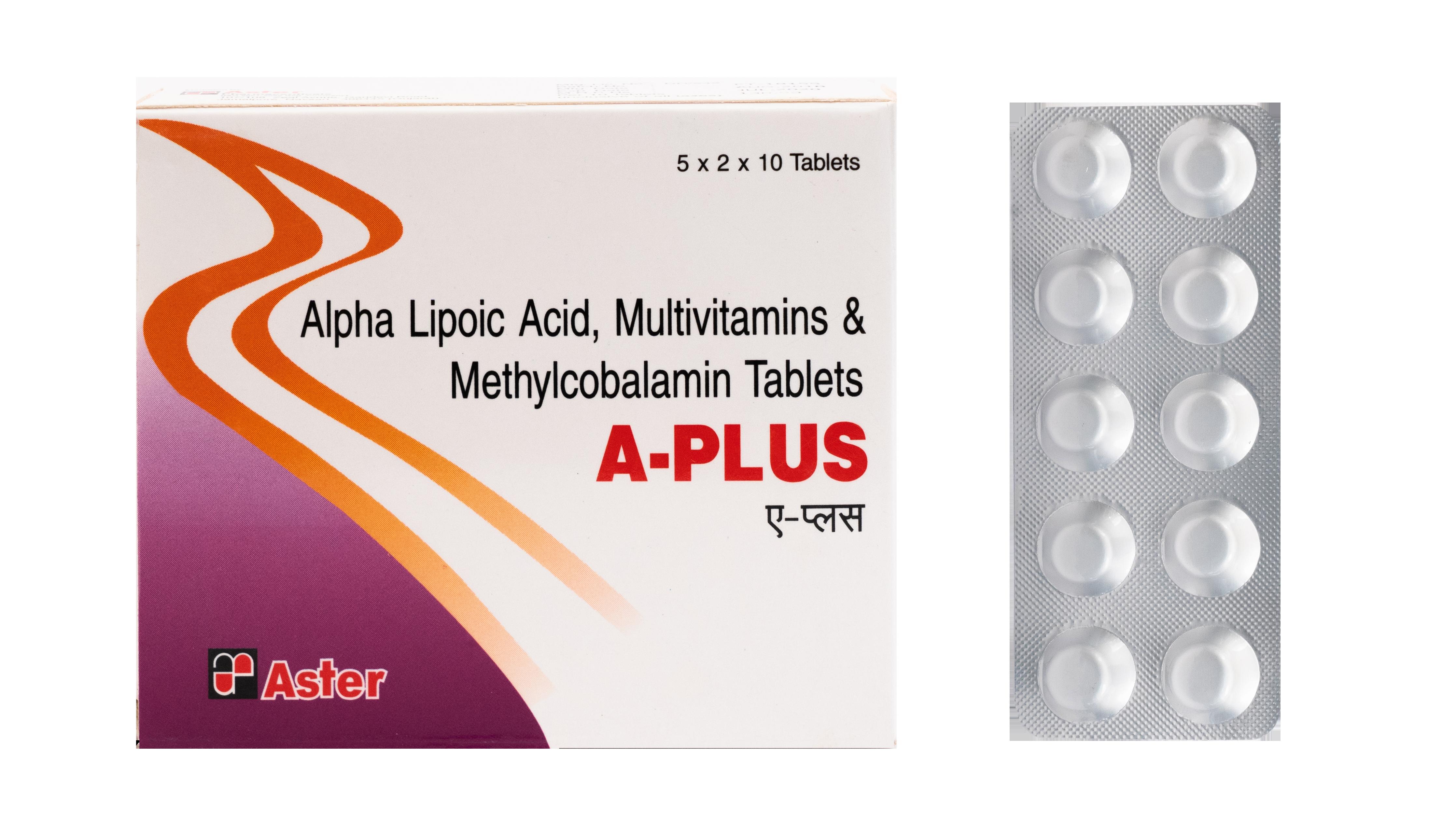 Alpha lipoic acid tablets
