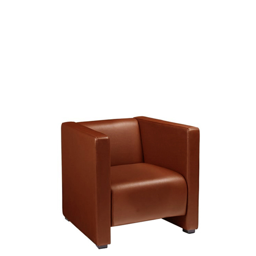 Reception Leather Cushion Sofa