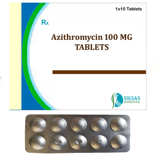 Azithromycin 100 Mg Tablets