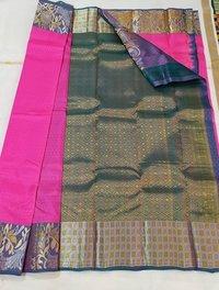 Pure Silk Wide Border Silk Sarees