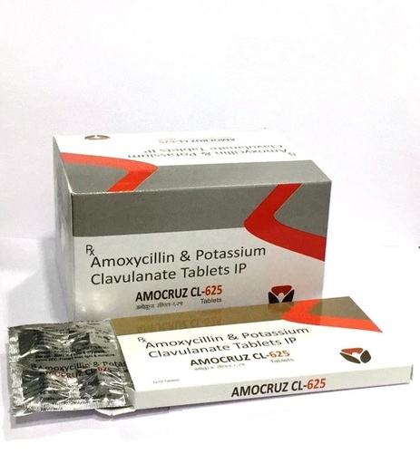 Amoxycillin 500mg. + Clavulanic Acid 125mg tab