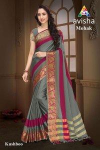 Avisha Mohak cotton silk saree