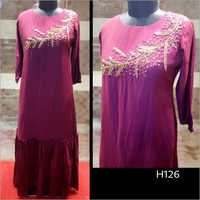 Fine Embroidered Designer Kurti