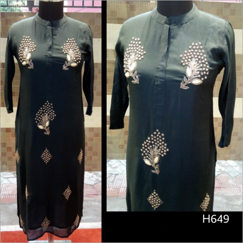 Modern Embroidered Kurti