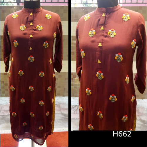 Heavy Embroidered Kurti