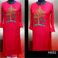 Heavy Embroidered Designer Kurti