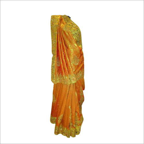 Ladies Designer Embroidered Saree