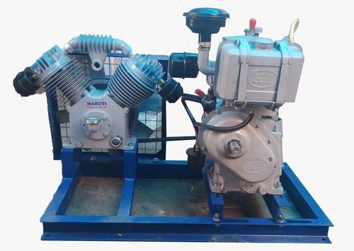 Maruti Diesel Engine Borewell Compressor
