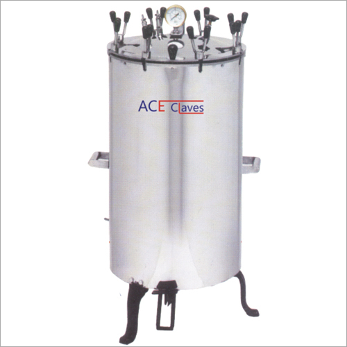 Stainless Steel Electrical Vertical Autoclave
