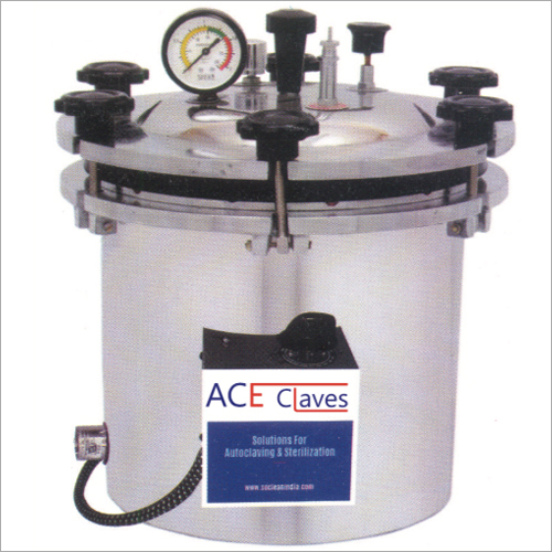 Wing Nut Type Autoclave Electrical With Thermostat  Timer