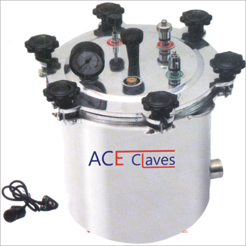 Wing Nut Type Autoclave Electrical Without Timer