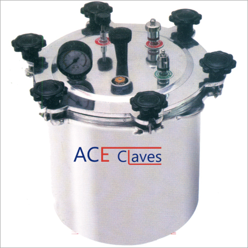 Non Electrical Wing Nut Type Autoclave