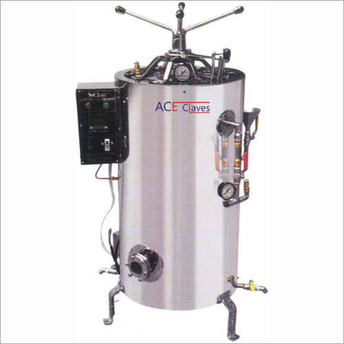 Vertical High Pressure Sterilizers