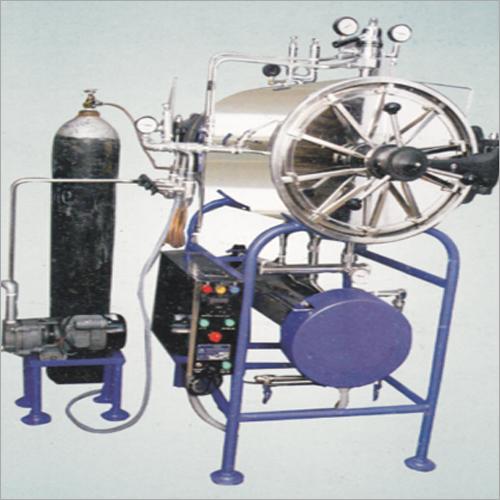 Horizontal High Pressure Steam Cum ETO Sterilizers