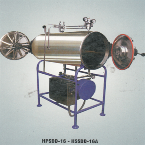 Double Door Horizontal High Pressure Sterilizers