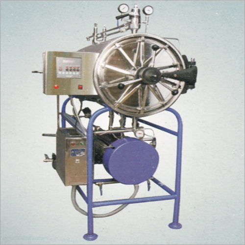 Horizontal High Pressure Sterilizers With PLC Micro Processor Controller