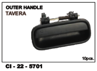 Outer Handle  Tavera L/R