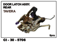Door Latch Assy Rear Tavera  L/R