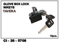 Glove Box Lock W/Keys Tavera