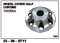 Wheel Cover Half Chrome Tavera