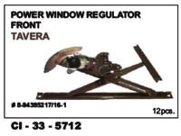 Power Window Regulator Front Tavera L/R