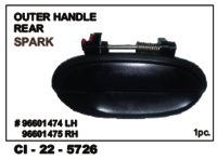 Outer Handle Rear Spark