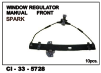 Window Regulator Manual Front Spark L/R