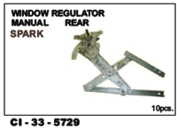 Window Regulator Manual Rear Spark L/R