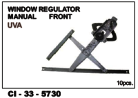 Window Regulator Manual Front Uva  L/R