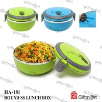 Round Lunch Box