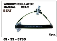 Window Regulator Manual Rear Beat