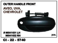 Outer Handle Front Aveo, Uva, Chevrolet L/R
