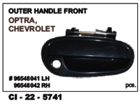 Outer Handle Front Optra, Chevrolet L/R