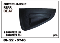 Outer Handle Rear Beat L/R