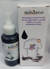 HotSubliGel Ink For Use Ink Cotton & Polyster Printing Ink