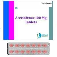Aceclofenac Tablets 100 Mg