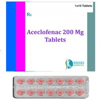 Aceclofenac 200 Mg Tablets