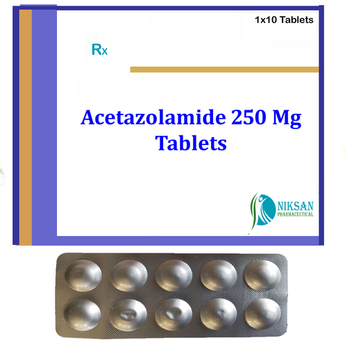 Acetazolamide 250 Mg Tablets