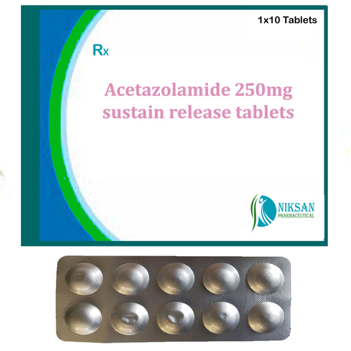Acetazolamide 250Mg Sustain Release Tablets