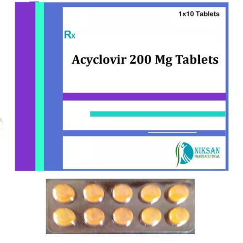 Acyclovir 200 Mg Tablets