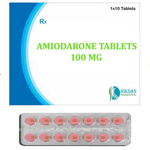 Amiodarone 100 Mg Tablets