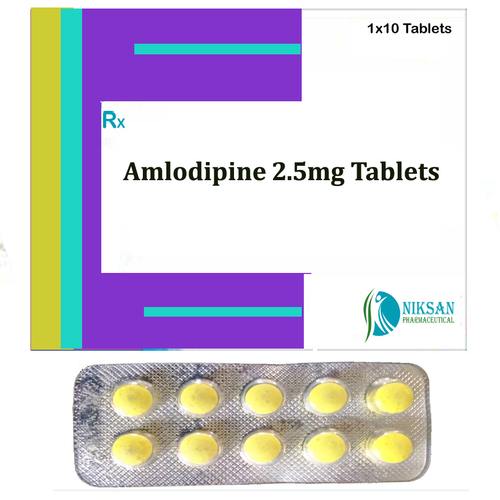 Amlodipine 2.5Mg Tablets