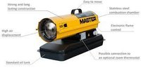 MASTER B70 Direct Diesel Oil Fired Space Heater