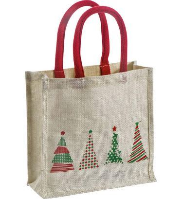 Jute Christmas Bag