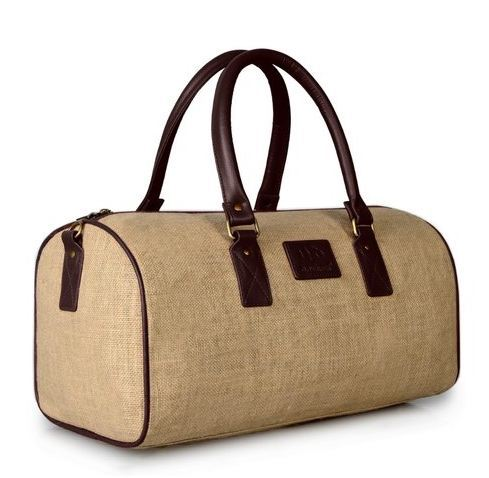 Jute Duffle Bag