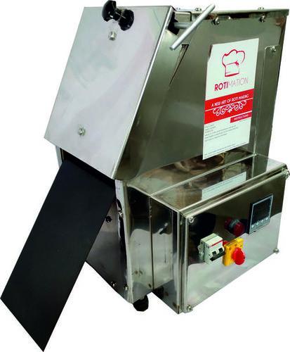 compact chapati press machine by Rotimation