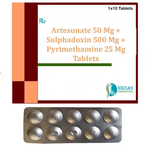 Artesunate Sulphadoxin Pyrimethamine Tablets